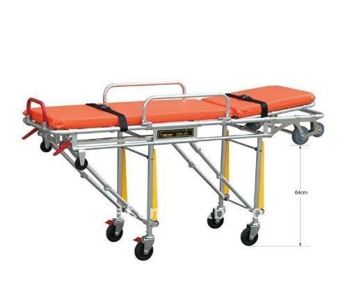 รถเข็นผู้ป่วยสำหรับรถพยาบาล ปรับนอนได้ 2 จังหวะ