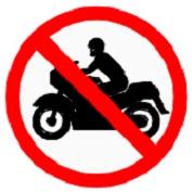 ป้ายห้ามรถจักรยานยนต์ (บ.16)