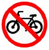 ป้ายห้ามรถจักรยาน (บ.20)