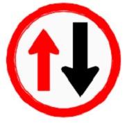 ป้ายให้รถสวนทางมาก่อน (บ.3)