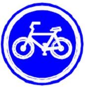 ป้ายช่องเดินรถจักรยาน (บ.52)