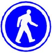 ป้ายคนเดินเท้า (บ.53)