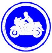 ป้ายช่องเดินรถจักรยานยนต์ (บ.51)