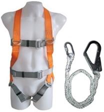 Full Harness With Single Lanyard
